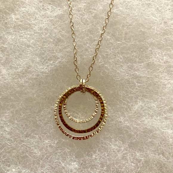 Silpada Sterling Silver and Brass Necklace N2296